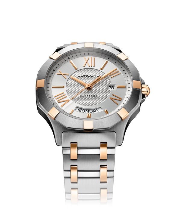 CONCORD Saratoga0320351 – Men's quartz watch - Front view