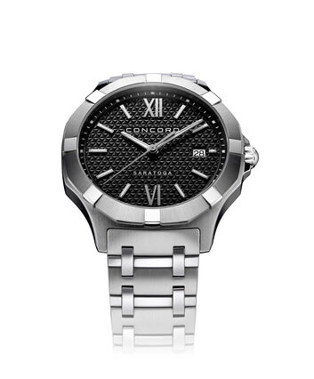 CONCORD Saratoga0320418 – Men's quartz watch - Front view