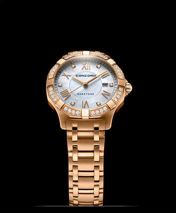 CONCORD Saratoga0320342 – Women's quartz watch - Front view