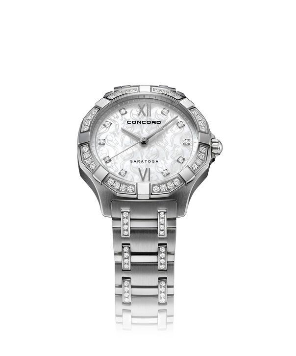Concord | Saratoga Women's 31mm Black PVD Quartz Watch
