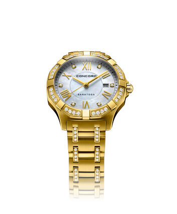 CONCORD Saratoga0320340 – Women's quartz watch - Front view