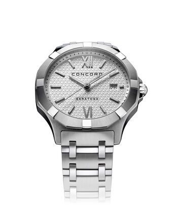 CONCORD Saratoga0320417 – Men's quartz watch - Front view