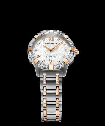 CONCORD Saratoga0320360 – Women's quartz watch - Front view