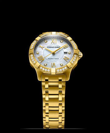 CONCORD Saratoga0320343 – Women's quartz watch - Front view