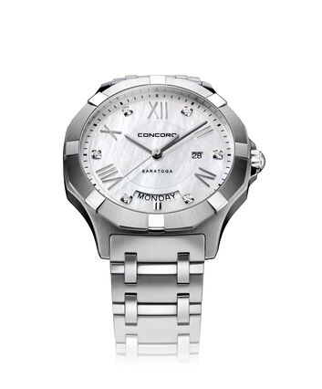 CONCORD Saratoga0320350 – Men's quartz watch - Front view
