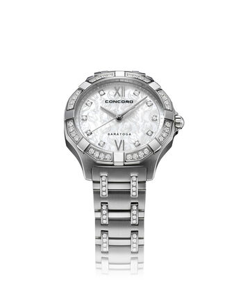 CONCORD Saratoga0320286 – Women's quartz watch - Front view