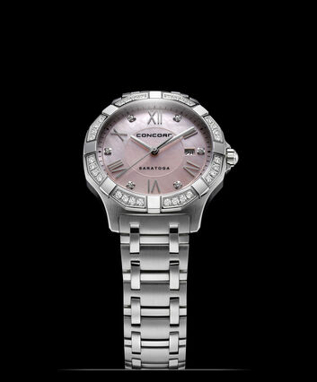 CONCORD Saratoga0320167 – Women's quartz watch - Front view