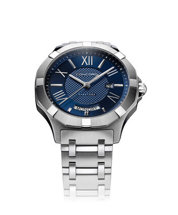 CONCORD Saratoga0320349 – Men's quartz watch - Front view